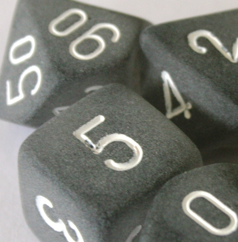 Chessex Frosted Graphite